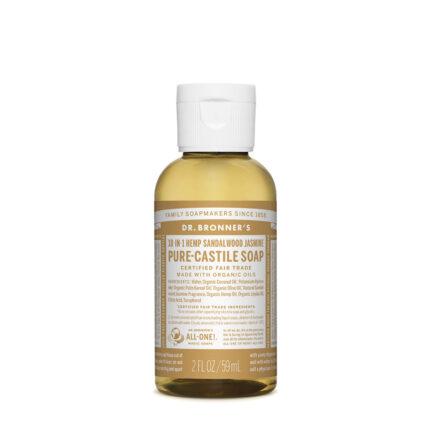 Dr Bronners - Sandalwood Jasmine Pure Castile Soap - 59ml