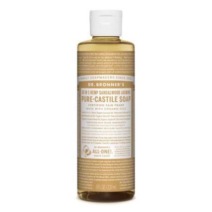 Dr Bronner's - Sandalwood & Jasmine Pure Castile Soap 237ml