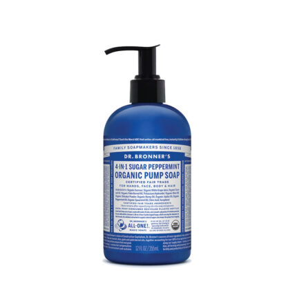 Dr. Bronner's - 4-in-1 Organic Pump Soap - Peppermint 355ml