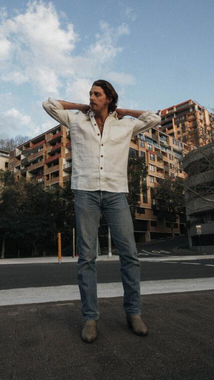 Hemp Clothing Australia - Men's Heritage Shirt