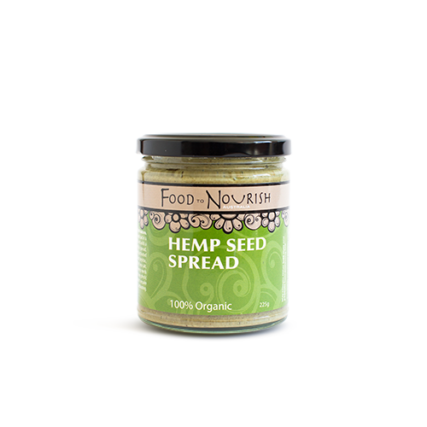 Food To Nourish - Sprouted Hemp Seed Spread