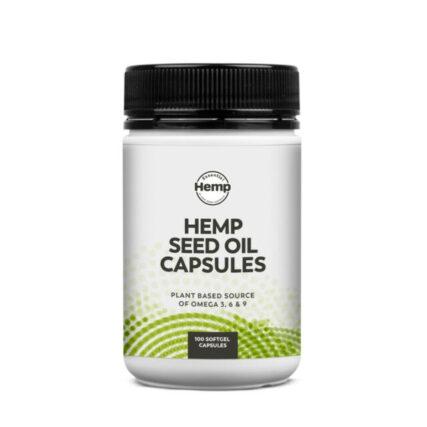Essential Hemp - Hemp Seed Oil Capsules