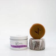 Hemp Collective - Conditioner Bar Lavender & Rose Geranium Tin