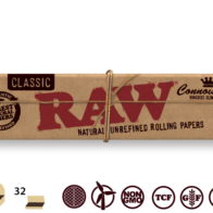 Raw - Classic 1 1/4 Hemp Papers With Tips