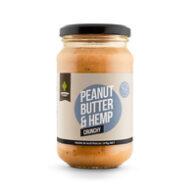 Grounded - Peanut Butter and Hemp Spread Crunchy 375g