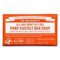 Dr Bronner's - Tea Tree Pure Castile Bar Soap