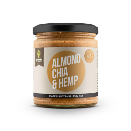 Grounded - Almond Chia and Hemp Spread 250g