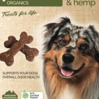 Pawsome Organics - Banana & Hemp Pet Treats 250g