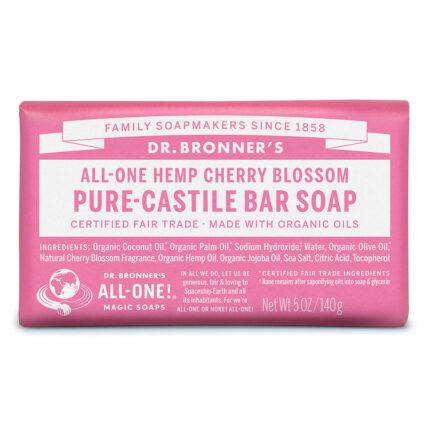 Dr Bronner's - Cherry Blossom Pure Castile Bar Soap