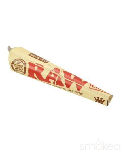 Raw - King Size Organic Hemp Cone Papers 3pk