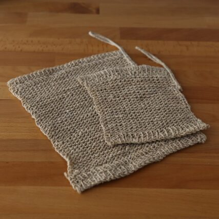 Fair Go Trading - Hemp Knitted Wash Cloth
