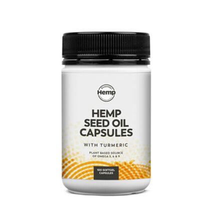Essential Hemp - Turmeric Hemp Seed Oil Capsules