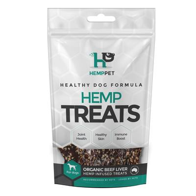 HempPet - Organic Beef Liver Hemp Infused Treats for Dogs 80g