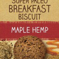 Naturally Good - Super Paleo Breakfast Biscuit Hemp Maple