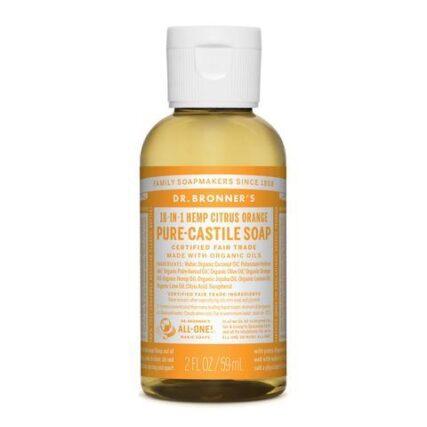 Dr Bronner's - Citrus 59ml Liquid Castile Soap