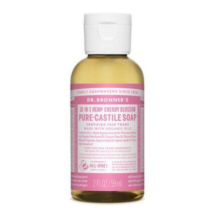 Dr Bronner's - Cherry Blossom 59ml Liquid Castile Soap