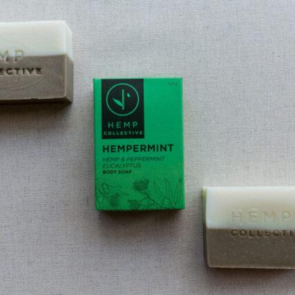 Hemp Collective - Hemp & Peppermint Body Soap