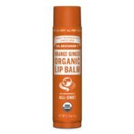Dr Bronner's - Orange Ginger Organic Lip Balm