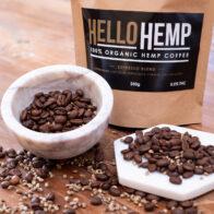 Hello Hemp - Hemp Coffee Espresso Blend