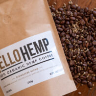 Hello Hemp - Hemp Coffee Filter Blend 250g