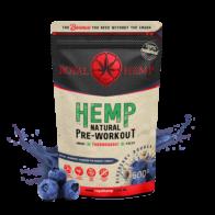 Royal Hemp - Natural Pre-Workout Blueberry Bounce 500g